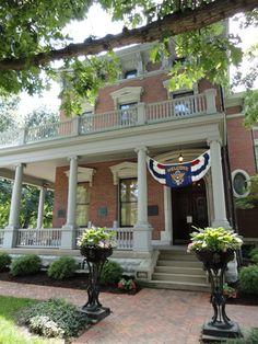 Visit President Benjamin Harrison's home