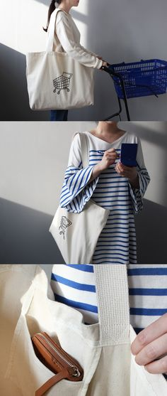 Need some extra storage when you go out? This spacious and sturdy canvas bag is perfect for baby mommies, grocery shopping, or as a daily fashion statement! There is more than enough space thanks to the expanded bottom, extra pocket to hold your phone, keys, wallet, cards and so on! And not to mention that this bag matches almost any outfit too! Be efficient, be smart, and be cute every day with the simplistic and handy Shopping Cart Canvas Bag!