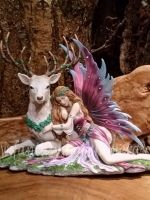 Fawna fairy with stag