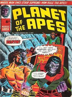 Marvel UK. Planet of the Apes #7.