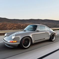 Singer 911, quite possibly the ultimate tuner Porsche....