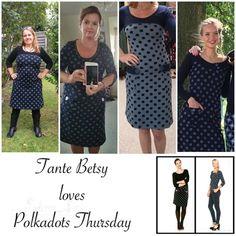 Tante Betsy loves Polkadots Thursday; Dress Retro Go Dot Black en nog meer leuke Tante Betsy polkadot jurk foto's