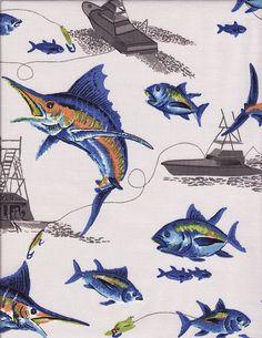 Blue Marlin Bedding