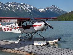 Piper Super Cub on Floats - Aircraft