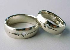 """""""I Do"""" Waveform Cutout Ring 