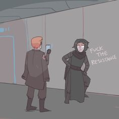 things i wanna see in episode viii: kylo and hux being total assholes and infiltrating the resistance