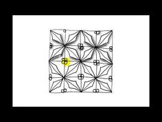Zentangle Pattern Tutorial - Holly - YouTube