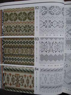Fair Isle Knitting Patterns, Knitting Machine Patterns, Knitting Charts, Lace Knitting, Knitting Stitches, Knitting Designs, Knitting Tutorials, Vintage Knitting, Fair Isle Chart