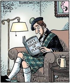 It does my Scottish soul good to think of (and wear) plaid...
