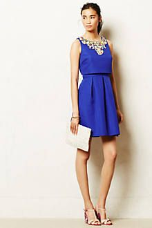 anthropologie jeweled convertable dress | Jeweled Convertible Dress