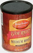 Farmer Brothers Gourmet 100 Arabica Medium Roast Ground Coffee 13Ounce Can -- Be sure to check out this awesome product.
