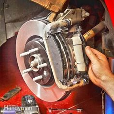 How to Change Brake Pads Changing brake pads is simpler than replacing rear disc brakes, and if you have experience doing basic repairs the job will take about four hours. Do it yourself and save a bundle! How to Change Brake Pads Truck Repair, Brake Repair, Vehicle Repair, Engine Repair, Changing Brake Pads, Radios, Brakes And Rotors, Brake Pad Replacement, Brake Service