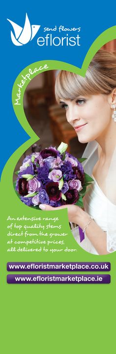 eFlorist Marketplace pull up banner.