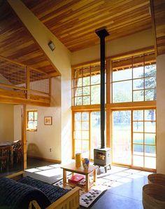 livning room design interior with fireplace