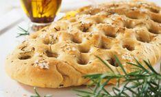 Olive, Rosemary and Mozzarella Focaccia Rosemary Focaccia, Focaccia Recipe, Great British Bake Off, Mozzarella, Apple Pie, Menu, Desserts, Recipes, Baking Ideas