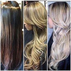 Dark Brown Box Color to Pale Ash Blonde: The Journey | Modern Salon
