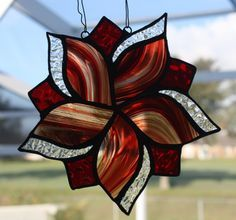 Red Baroque Star by GleamingColours on Etsy, $45.00