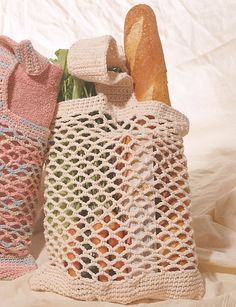 Market Bag - Patterns | Yarnspirations