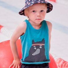 oeuf tank top – bear - view all - girl | Thumbeline