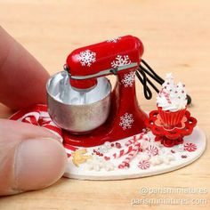 Mini red kitchenaid!