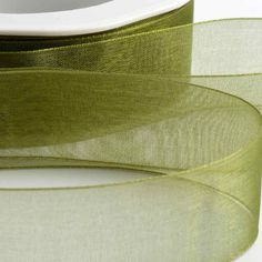 Subtle and sophisticated this Moss Green Organza Ribbon with Woven Edge is versatile and bang on trend. Make Your Own Wedding Invitations, One Eyed Cat, Burlap Lace, Organza Ribbon, Flower Fairies, Green And Gold, Headbands, Favors, Etsy