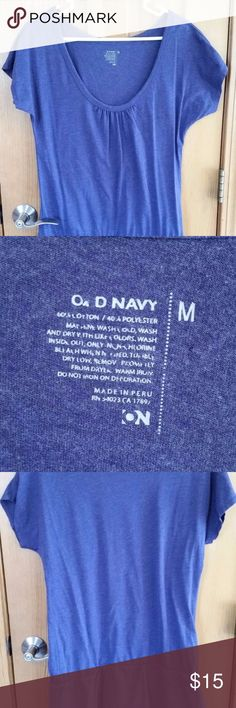 Old Navy Womens Purple Cotton Blend Tunic M Old Navy Womens Purple Cotton Blend Tunic M - like new! Old Navy Tops Tunics