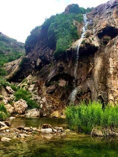 Sitting Bull Falls, near Carlsbad