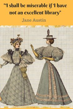 """Jane Austin quote: """"I shall be miserable if I have not an excellent library"""". Jane Austin Quotes, Latest Books, Jane Austen, Authors, Thriller, Quotations, Disney Characters, Fictional Characters, Novels"""