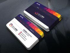 Web Business Card Template Web Business, Cool Business Cards, Business Card Design, Web Technology, All Fonts, Design Templates, Card Templates, Visiting Card Design, Information Technology
