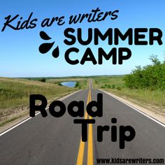 Use music to inspire your writing. Road trip writing prompt.