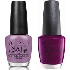 Pantone 2014 Radiant Orchid - OPI colors
