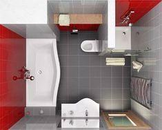 planirovka-vannoy-komnati-1 Room Planning, Home Hacks, House Rooms, Small Bathroom, Bathroom Ideas, Toilet, Sweet Home, Bathtub, Cabinet