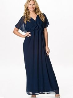 Plus size chiffon maxi dress with sleeves - https://letsplus.eu/maxi-dress/plus-size-chiffon-maxi-dress-with-sleeves.html.