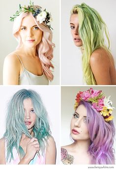 Trendspotting: Hued Hair