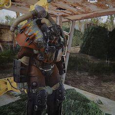 Atom Cats X01 Power Armor #fallout #fallout4 #gaming #powerarmor