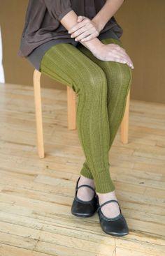 Miss Julia's Vintage Knit & Crochet Patterns: Free Patterns - 25 Luscious Leg Warmers to Knit & Crochet