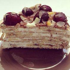 Блинный торт без масла, сахара и муки  / Интересное в IT