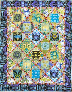 Quilternity's Place - love the fabrics in this quilt