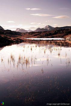 The Fairy Lochs, Shieldaig, Wester Ross, Northwest Highlands of Scotland. Wester Ross, Celtic Mythology, Scotland Castles, Highlanders, England And Scotland, Scottish Highlands, Scotland Travel, Countries Of The World, Homeland
