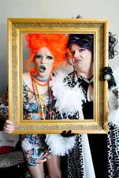 Excited for Drag Queen day tomorrow!  #inspiration --Drag Kings and Queens by Andrew Florides