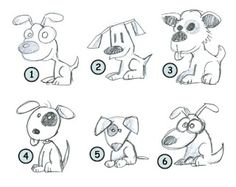 Easy animal sketches easy animal drawing tutorials cute how to draw cartoon puppies easy animal drawings Animal Sketches Easy, Easy Animal Drawings, Easy Drawings, Cartoon Drawing Tutorial, Cartoon Girl Drawing, Drawing Cartoons, Drawing For Kids, Drawing Tips, Drawing Tutorials