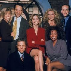 Ally McBeal (1997-2002)-thought this show was so cool.... loved the dancing baby and the fact that Barry White was used in dream sequences!