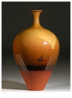 Russell Akerman Studio Pottery Amber Sunrise Page