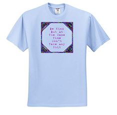 When Life Gives You Shit Flush It Digital Art T-Shirts 3dRose Cassie Peters Four Letter Words