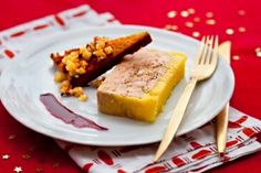 Photo:Recette de Terrine de foie gras au calvados, réduction épicée