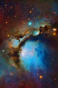 Universe Astronomy The Nebula Messier 78 is a reflection nebula in the constellation Orion and is the brightest diffuse reflection nebula of a group of nebulae. Cosmos, Interstellar, Space Photos, Space And Astronomy, Astronomy Facts, Space Planets, Hubble Space Telescope, Galaxy Space, Deep Space