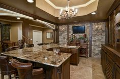 Traditional Bar Basement Design Ideas, Pictures, Remodel and Decor