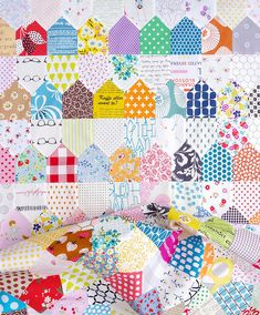 One Patch Quilt - Row Houses