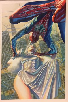 Amazing Spider-Man # 26 - Marvel Comics - Cover art by Alex Ross Hq Marvel, Marvel Heroes, Marvel Characters, Captain Marvel, Spiderman Girl, Amazing Spiderman, Arte Dc Comics, Marvel Comics Art, Alex Ross