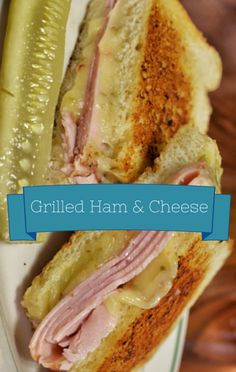 Mario Batali made a Ham & Grilled Cheese recipe on The Chew as a late-night snack idea. http://www.foodus.com/the-chew-mario-batali-ham-grilled-cheese-recipe/